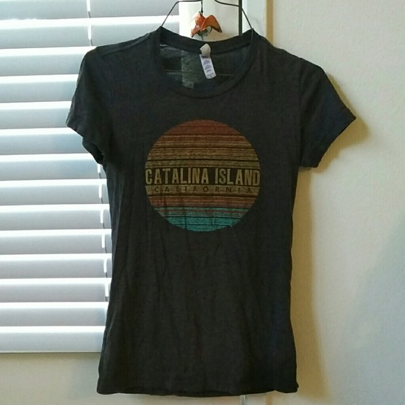 Bella Tops - Catalina Island CA t-shirt